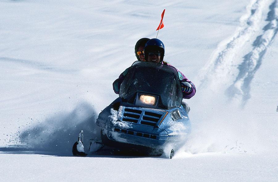 冬季的雪上活動